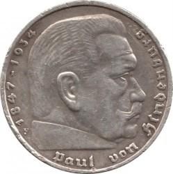 Монета > 5рейхсмарок, 1935 - Германия (Третий рейх)  - reverse