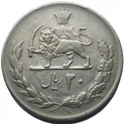 Moneta > 20rialów, 1976 - Iran  (50 rocznica - Dynastia Pahlawi) - reverse