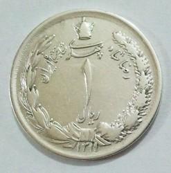 מטבע > 1ריאל, 1931-1934 - איראן  - obverse