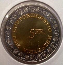 Монета > 5франків, 2003 - Швейцарія  (Проводи зими (Chalandamarz)) - obverse