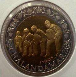 Монета > 5франків, 2003 - Швейцарія  (Проводи зими (Chalandamarz)) - reverse