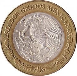 العملة > 10بيزوجديد, 1992-1995 - المكسيك  - reverse