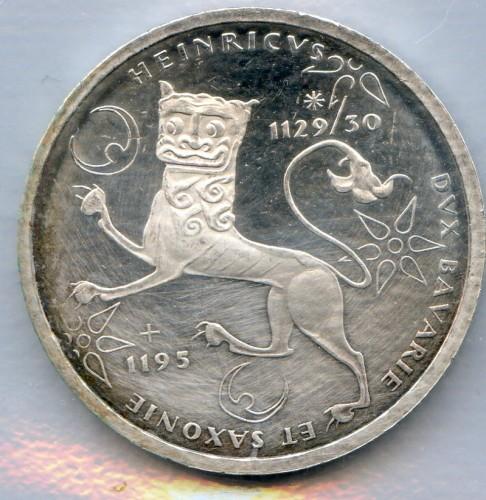 10 Mark 1995 Heinrich Der Löwe Deutschland Münzen Wert Ucoinnet