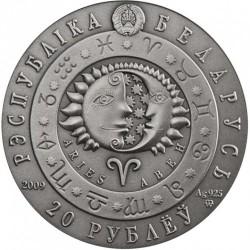 Moneta > 20rubli, 2009 - Białoruś  (Znaki zodiaku - Baran) - obverse