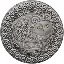Moneta > 20rubli, 2009 - Białoruś  (Znaki zodiaku - Baran) - reverse