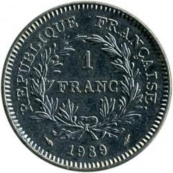 Moneda > 1franc, 1989 - França  (200è aniversari - Estats generals) - obverse