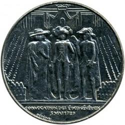 Moneda > 1franc, 1989 - França  (200è aniversari - Estats generals) - reverse
