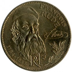 Coin > 10francs, 1984 - France  (200th Anniversary - Birth of Francois Rude) - reverse