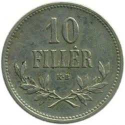 Moneda > 10fillér, 1914-1916 - Hongria  - reverse