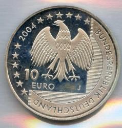 Moeda > 10euro, 2004 - Alemanha  (Parque Nacional do Mar Frísio) - obverse