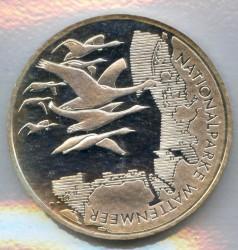 Moeda > 10euro, 2004 - Alemanha  (Parque Nacional do Mar Frísio) - reverse