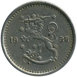 Münze > 50Penny, 1938 - Finnland  - obverse