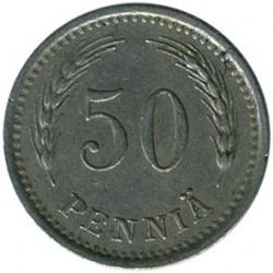 Münze > 50Penny, 1938 - Finnland  - reverse
