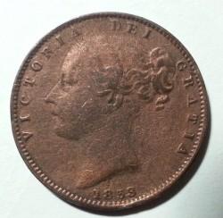 Νόμισμα > ½Πέννες, 1838-1859 - Ηνωμένο Βασίλειο  - obverse