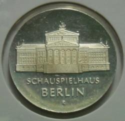 Moneda > 10marcos, 1987 - Alemania - RDA  (750º Aniversario - Berlín, Konzerthaus) - reverse