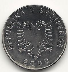 Moneda > 5lekë, 2000 - Albania  - obverse