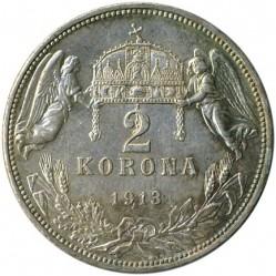 Moneda > 2korona, 1912-1914 - Hongria  - reverse