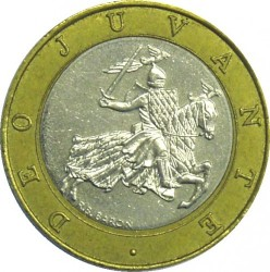 Moneta > 10franków, 1989-2000 - Monako  - reverse