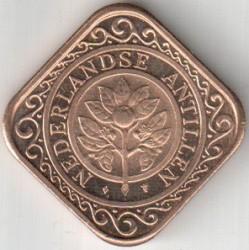 Moneda > 50centavos, 1995 - Antillas Holandesas  - obverse