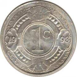 Moneda > 1centavo, 1989-2016 - Antillas Holandesas  - reverse