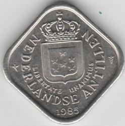 Moneta > 5centesimi, 1971-1985 - Antille Olandesi  - obverse