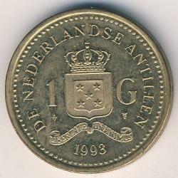 Moneda > 1florín, 1989-2013 - Antillas Holandesas  - reverse