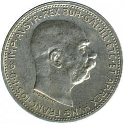 سکه > 1کرونا, 1912-1916 - اتریش   - obverse