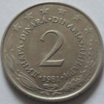 Yugoslavia Dinar 1979  BU  lot of 25 coins