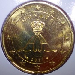 Monēta > 20centu, 2009-2017 - Monako  - reverse