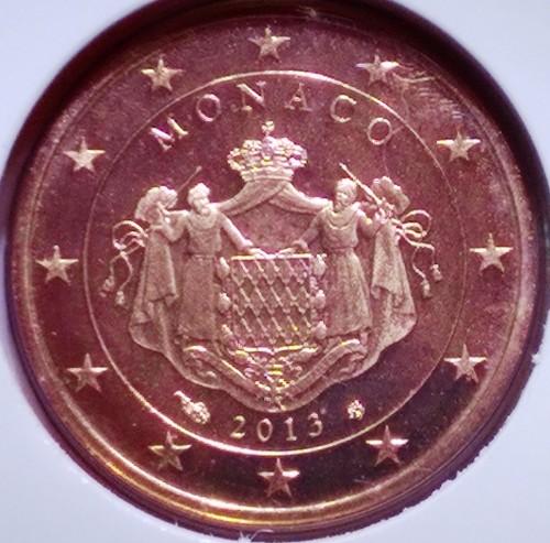 2 Eurocent 2006 2017 Monaco Münzen Wert Ucoinnet