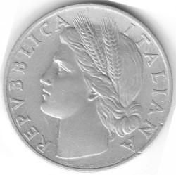 Moneta > 1lir, 1946-1950 - Włochy  - obverse