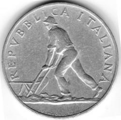 Moneta > 2liry, 1946-1950 - Włochy  - obverse