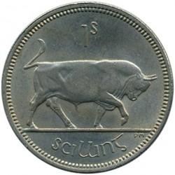 Монета > 1шиллинг, 1951-1968 - Ирландия  - reverse