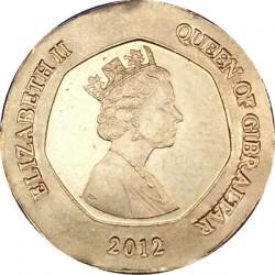 Moneda > 20peniques, 2012-2013 - Gibraltar  - obverse
