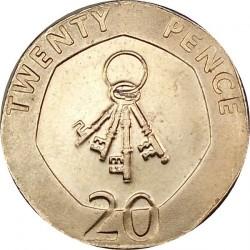 Moneda > 20peniques, 2012-2013 - Gibraltar  - reverse