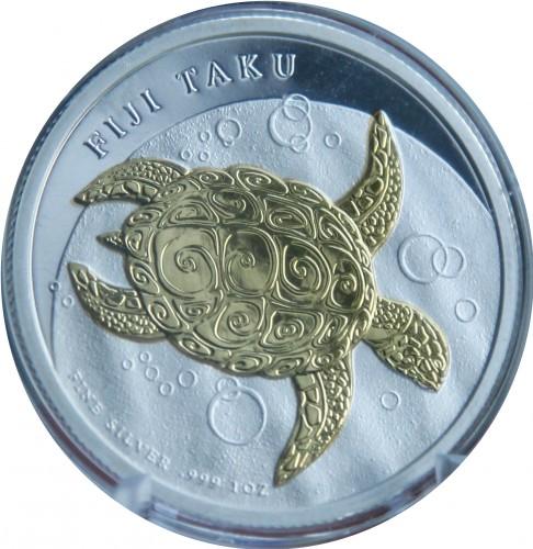 2;5;10 dollars, P-109b-110b-111a QEII 2007-2012 UNC SET FIJI