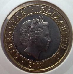 Moneda > 2libras, 2002-2003 - Gibraltar  - obverse