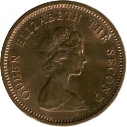 Coin > ½newpenny, 1971-1980 - Jersey  - reverse