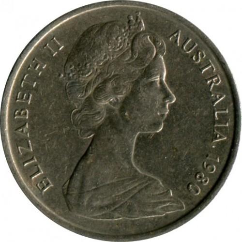 5 Cent 1980 Australien Münzen Wert Ucoinnet