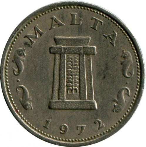 5 Cent 1972 1981 Malta Münzen Wert Ucoinnet