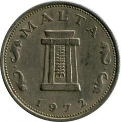 Монета > 5центов, 1972-1981 - Мальта  - reverse
