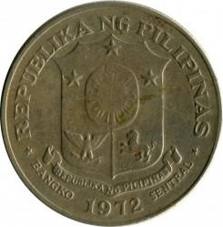 Moneta > 1peso, 1972-1974 - Filipiny  - obverse
