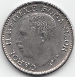 Coin > 100lei, 1936-1938 - Romania  - obverse