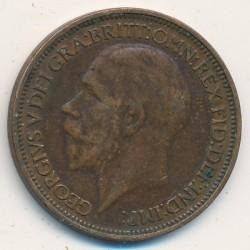 Minca > ½penny, 1926-1927 - Veľká Británia  - reverse