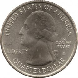 Coin > ¼ dollar, 2011 - USA  (Olympic National Park Quarter) - obverse