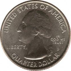 Moneda > ¼dollar, 2015 - Estats Units  (Bosc Nacional de Kisatchie) - reverse