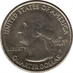 Moneta > ¼dollaro, 2012 - USA  (Parco nazionale di Acadia - Quarto) - obverse