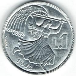 العملة > 1ليرة, 1973 - سان مارينو  - obverse