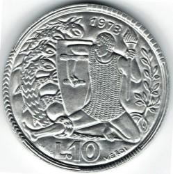 العملة > 10ليرة, 1973 - سان مارينو  - obverse