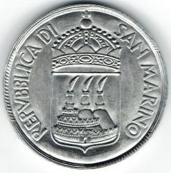 العملة > 10ليرة, 1973 - سان مارينو  - reverse